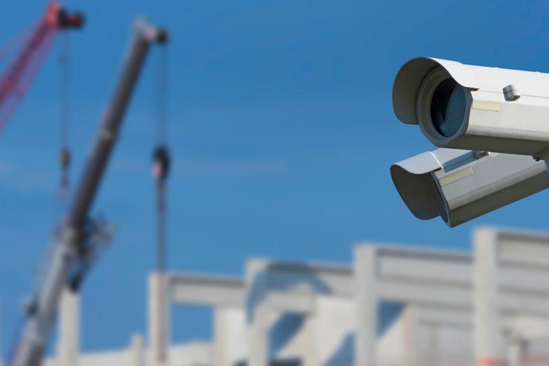 Baustellenüberwachung